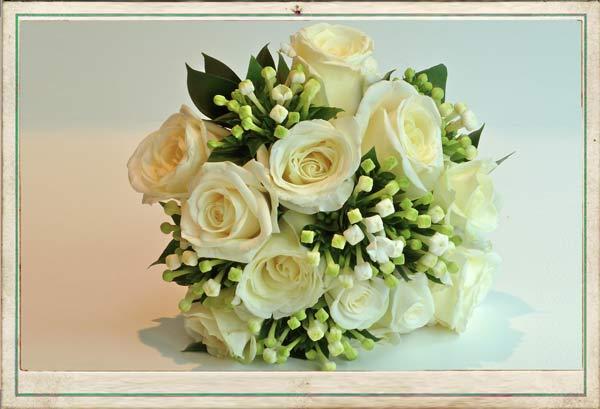 August wedding flowers bouquet