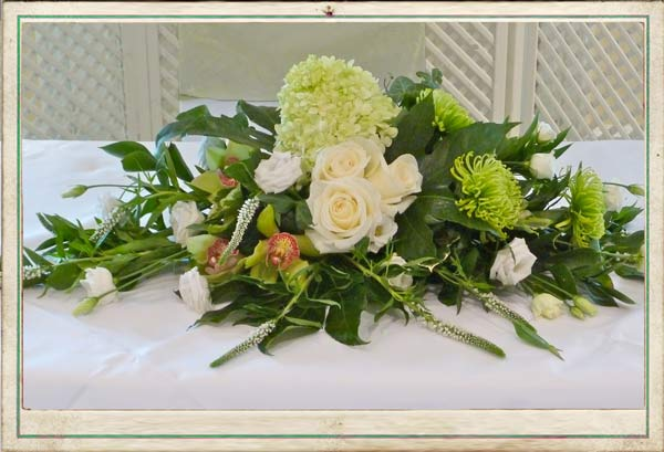 August Wedding Flowers