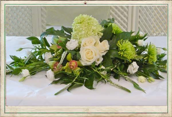 August Wedding Flowers