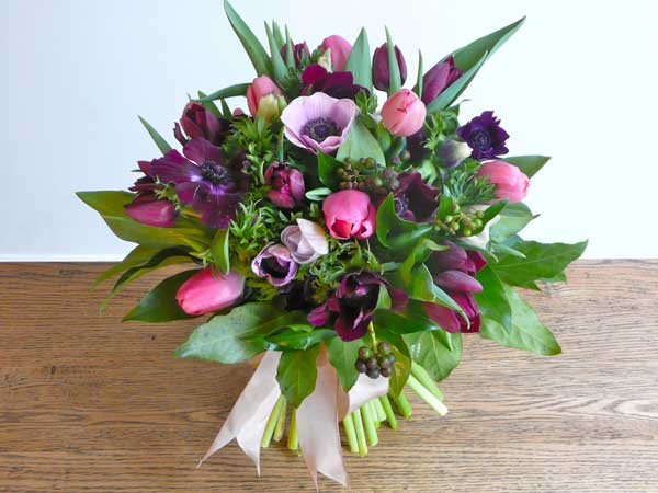 Home Accents Flowers Anemones and Tulips