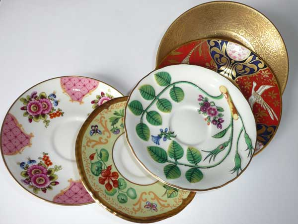 Home Accents Flowers Vintage China