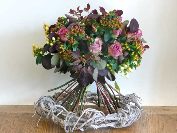 Home Accents Flowers Rose and Hypericum