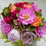 bright flower bouquets