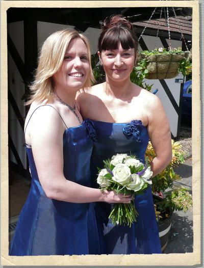 blue wedding flowers, blue wedding bouquets, oxford wedding flowers