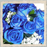 blue wedding flowers, wedding flowers cotswolds