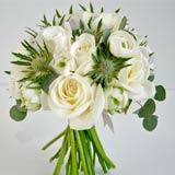 christmas wedding flowers, winter wedding flowers
