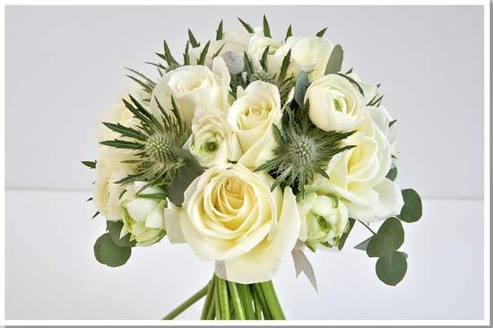 christmas wedding flowers, winter wedding flowers, december wedding flowers