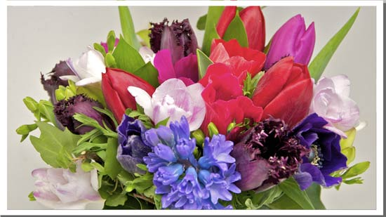 February Wedding Flowers