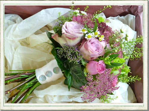 October Wedding Flowers In A Pretty Cotswolds Village