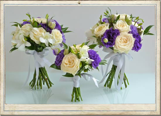trailing  wedding flowers