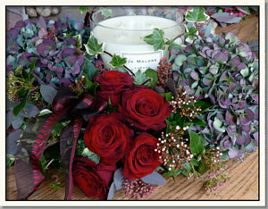 wedding flowers, evesham, chipping campden, birthday flowers