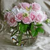 rosebowls, wedding flowers ideas