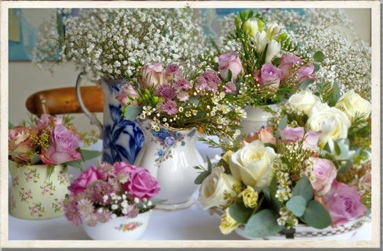 Vintage China Vintage Wedding Flowers Vintage Bridal Ideas