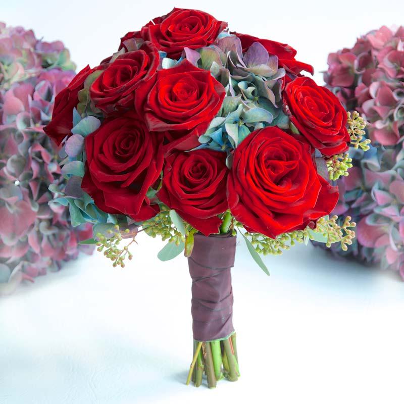 october Bridal flower bouquets
