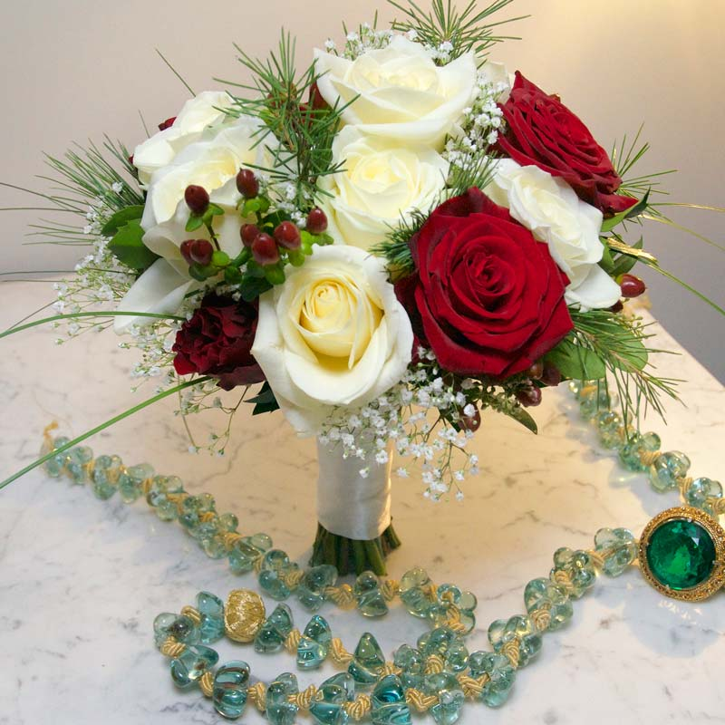 december Bridal flower bouquets