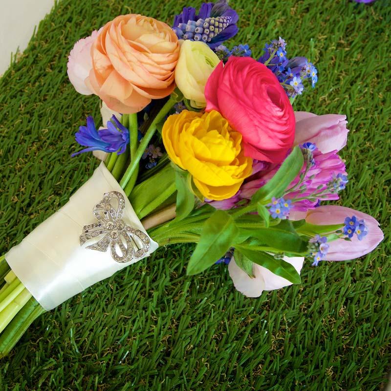april Bridal flower bouquets