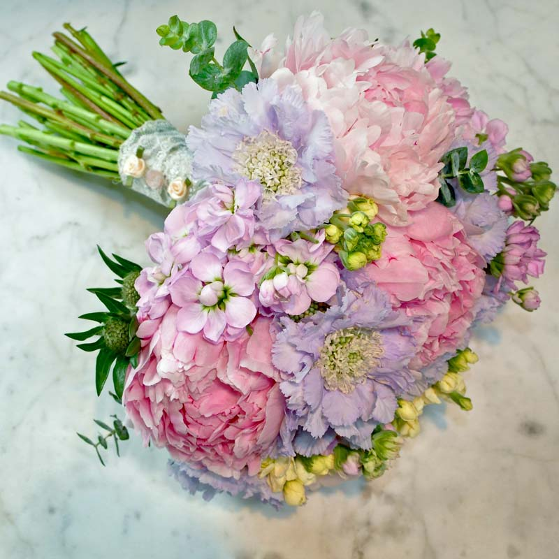 july Bridal flower bouquets