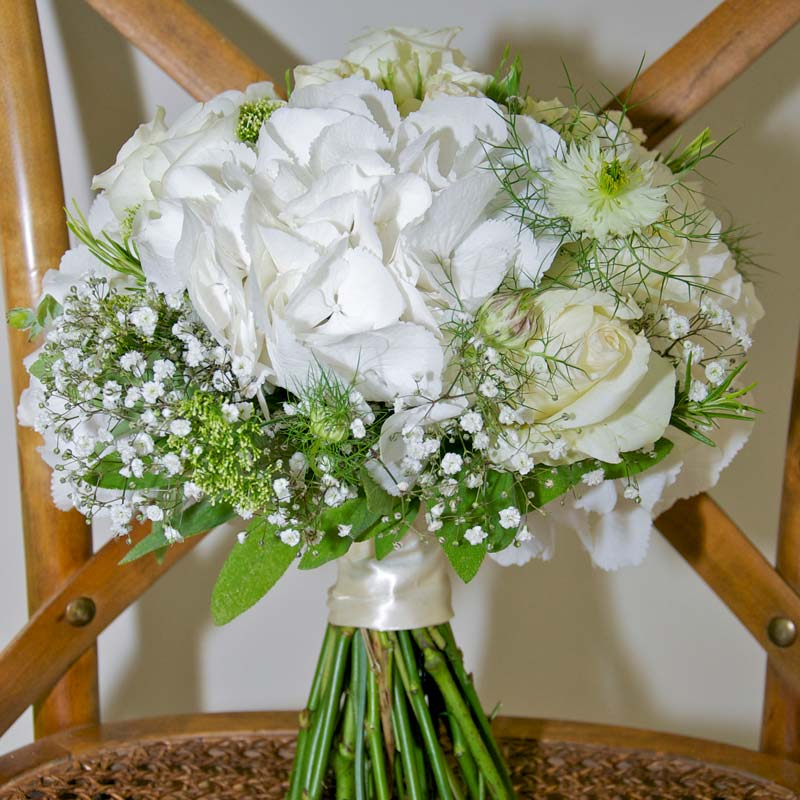 august Bridal flower bouquets