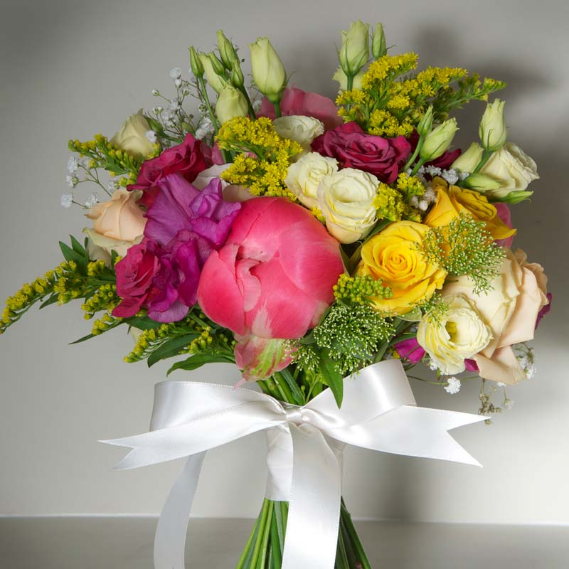 august Bridal flower bouquets