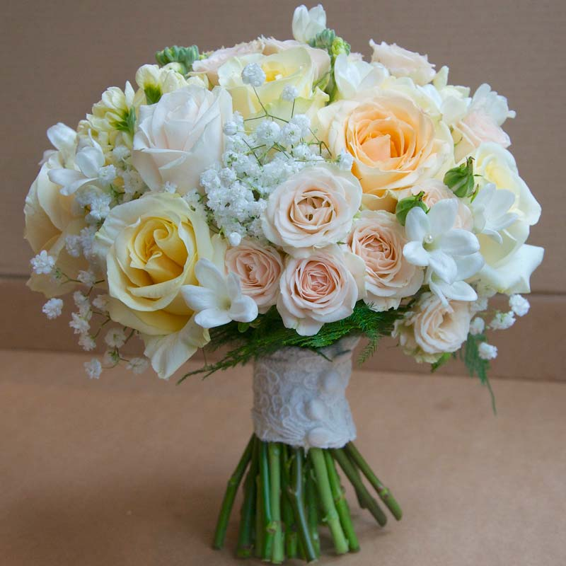 roses bouquet for wedding bridal flower bouquets a gallery of beautiful arrangements 7133