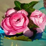home accent flowers, evesham wedding flowers