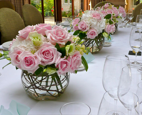 rose bowl arrangements,  birthday flowers, special events flowers