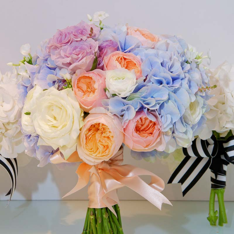 october Bridal flower bouquets